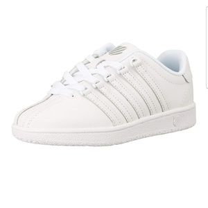 K-Swiss White Classic Girl Shoes size 11